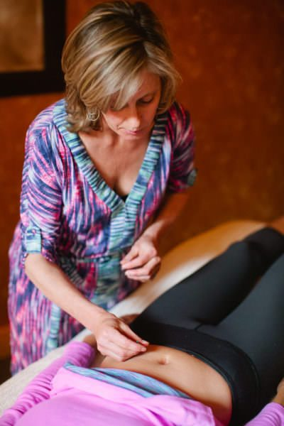 Acupuncture techniques in practice at The Sanctuary in North Lake Tahoe